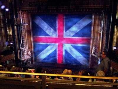 Nederlander Theatre, section: C Mezz, row: HH, seat: 101,102