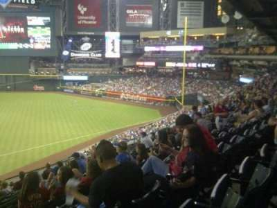 Chase Field, section: 208, row: 11, seat: 18