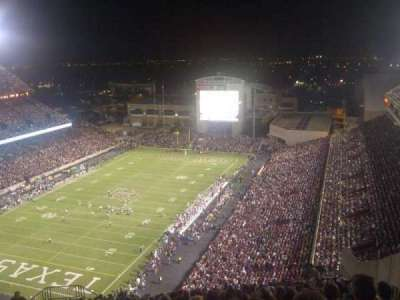 Kyle Field, section: 501, row: 26, seat: 8