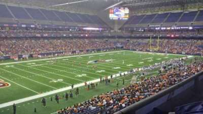 Alamodome, section: 217, row: 1, seat: 18