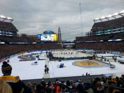 Gillette Stadium, section: 122, row: 27, seat: 6
