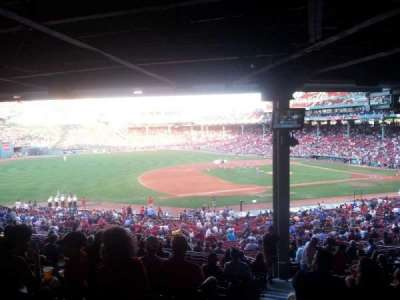Fenway Park, section: Grandstand 28, row: 14, seat: 13