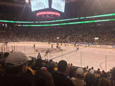 TD Garden, section: Loge 10, row: 13, seat: 9