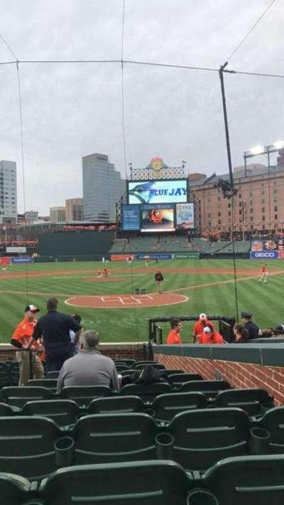 Oriole Park at Camden Yards, section: 38, row: 12, seat: 5