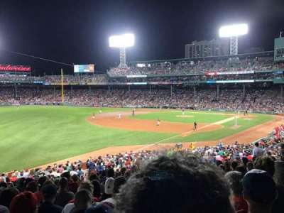 Fenway Park, section: 31, row: 7, seat: 17