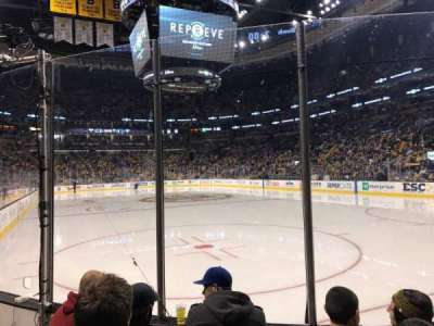 TD Garden, section: Loge 8, row: 4, seat: 7