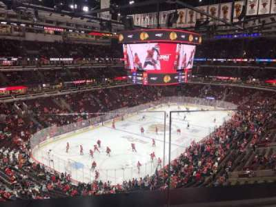 United Center section 305