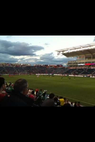 Toyota Park section 103