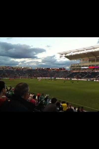 SeatGeek Stadium section 103