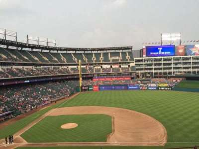 Globe Life Park in Arlington section 233