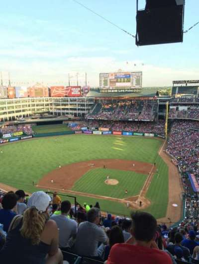 Globe Life Park in Arlington, section: 323, row: 22, seat: 10