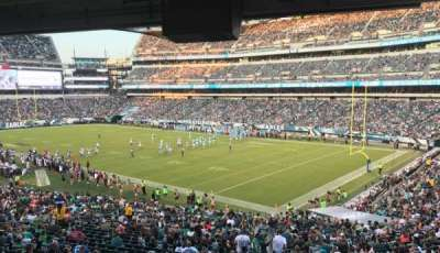 Lincoln Financial Field section LS72