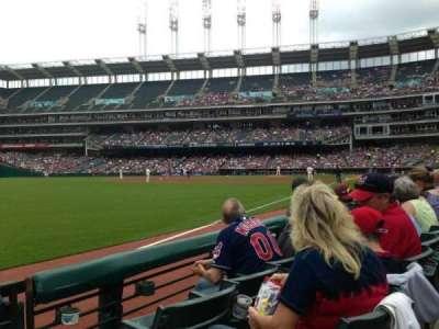 Progressive Field, section: 175, row: C, seat: 1