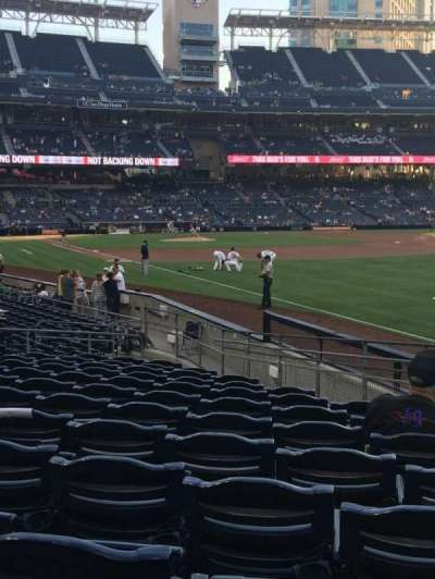 PETCO PARK section 121