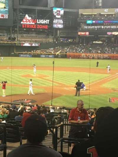 Chase Field section 124