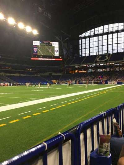 Lucas Oil Stadium section 117