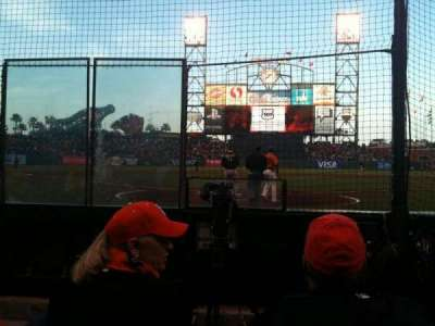 AT&T Park section 115
