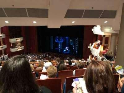 Au-Rene Theatre at the Broward Center section Mezzanine R