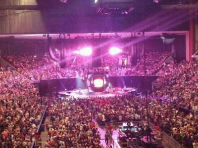Jacksonville Veterans Memorial Arena, section: 109, row: CC, seat: 3