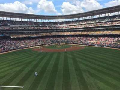 Target Field section 235
