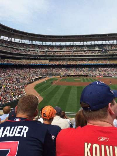 Target Field, section: 138, row: 7, seat: 6