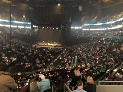 Spectrum Center, section: 116, row: AA, seat: 38-39