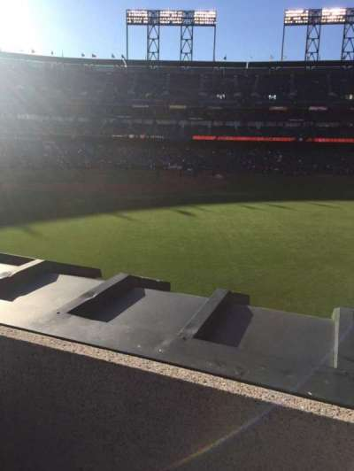 AT&T Park, section: 148, row: 2, seat: 5