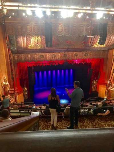 Beacon Theatre section Upper Balcony