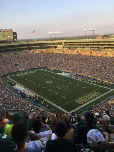 Lambeau Field, section: 736S, row: 14, seat: 7