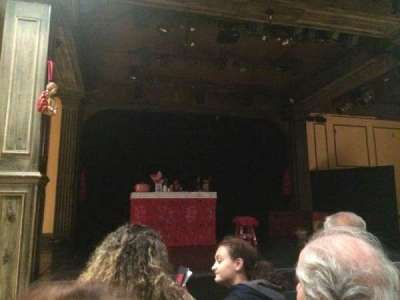Teatro La Comedia, section: Main, row: 3, seat: 5