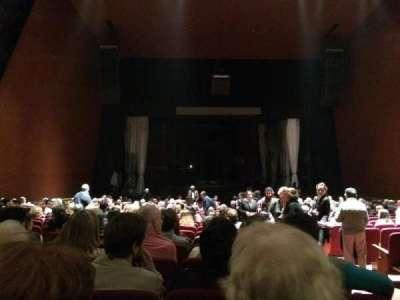 Teatro Coliseo, section: Platea, row: 20, seat: 3