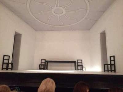 Teatro Regina, section: Main, row: 3, seat: 4