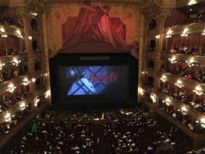 Teatro Colón, section: Cazuela Centro, row: 3, seat: 71