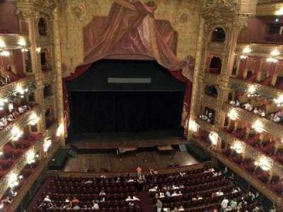 Teatro Colón, section: Tertulia Centro, row: 1, seat: 101