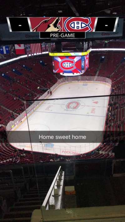 Centre Bell, section: 309, row: C, seat: 1