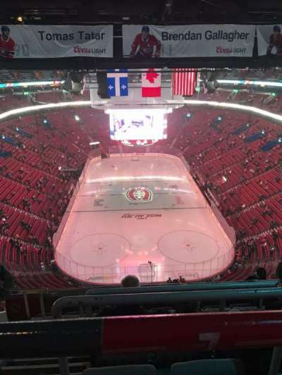 Centre Bell, section: 310, row: A, seat: 10