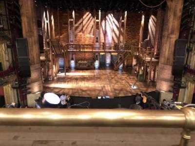CIBC Theatre, section: Mezzanine LC, row: A, seat: 301