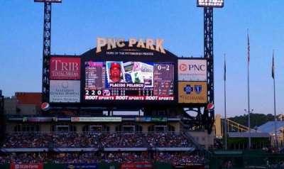 PNC Park, section: 112, row: E