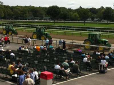 Saratoga Race Course section Grandstand