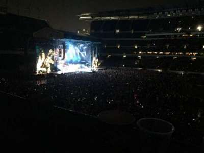 Lincoln Financial Field, section: LS, row: 61