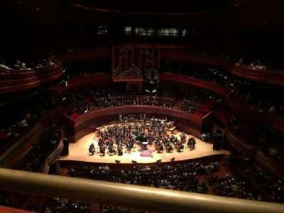 Verizon Hall at the Kimmel Center, section: Tier 3, row: A, seat: 133