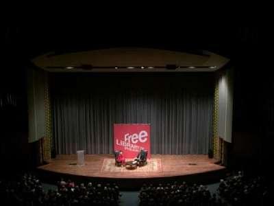 Irvine Auditorium, section: Balcony, row: Center