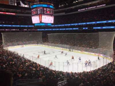 Wells Fargo Center section Club