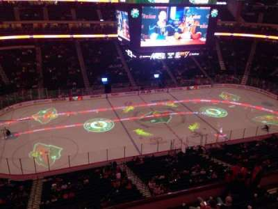 Xcel Energy Center, section: 205, row: 1, seat: 5