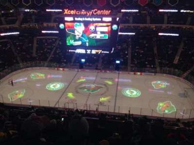 Xcel Energy Center section 203