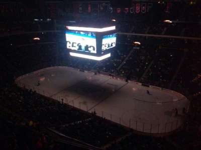 Xcel Energy Center, section: 201, row: Top, seat: Folding Chair