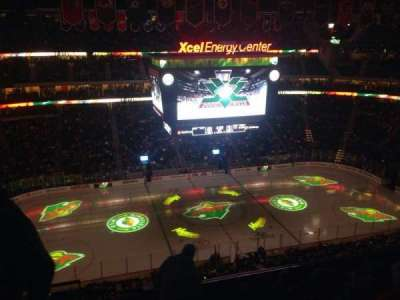 Xcel Energy Center, section: 205, row: 6, seat: 19