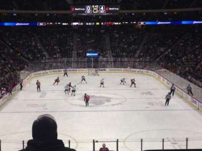 Xcel Energy Center, section: 110, row: 24, seat: Standing