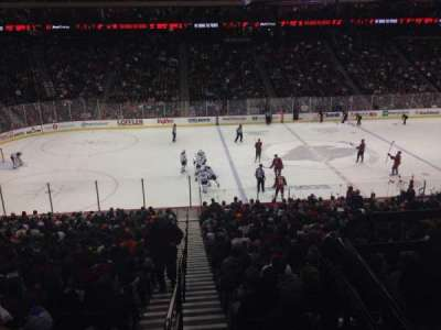 Xcel Energy Center, section: 118, row: 26, seat: Standing