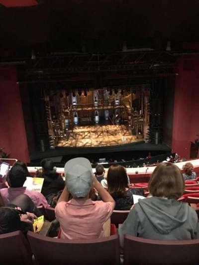 San Diego Civic Theatre section Balcony C